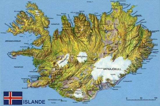 Islande Volcan Centre De La Terre