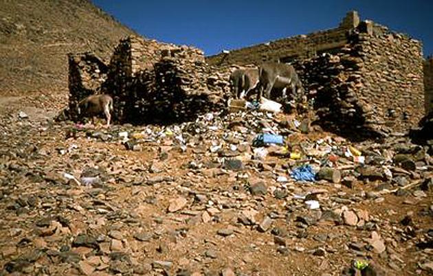 L'érmitage de Charles de Foucauld sur Assekrem (Hoggar, Algérie) 1