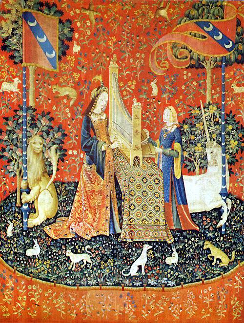Tracy chevalier la dame la licorne argoul - Tapisserie dame a la licorne ...