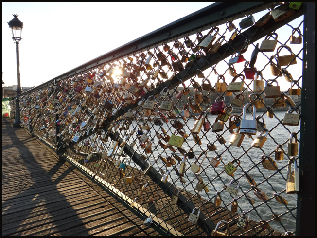 Paris cadenas 2011 du pont des arts argoul - Cadenas amoureux pont paris ...