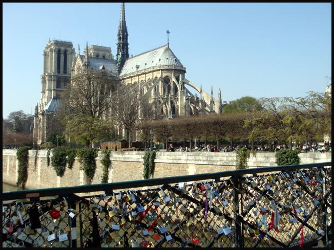 Paris cadenas 2011 pont de l archeveche argoul - Pont des cadenas paris adresse ...