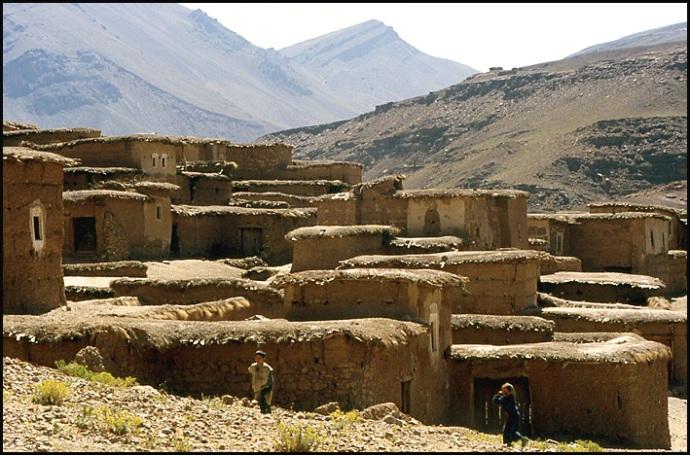 Randonnée dans le Haut Atlas central ; rencontre avec les Berbères au Maroc 43