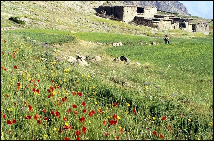 Randonnée dans le Haut Atlas central ; rencontre avec les Berbères au Maroc 55