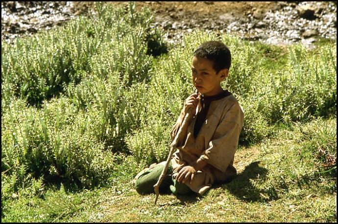 Randonnée dans le Haut Atlas central ; rencontre avec les Berbères au Maroc 40