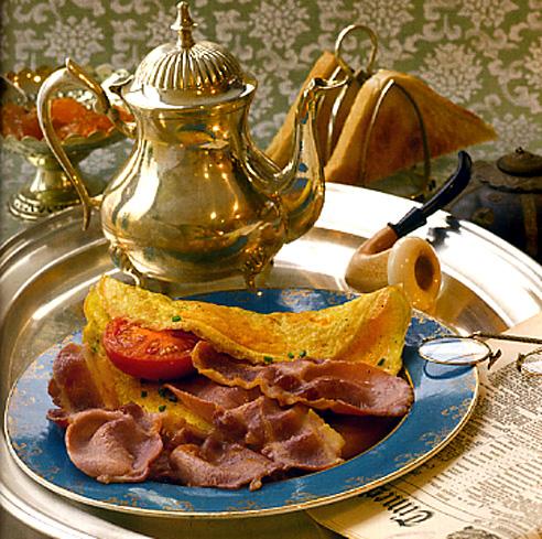 bacon omelette