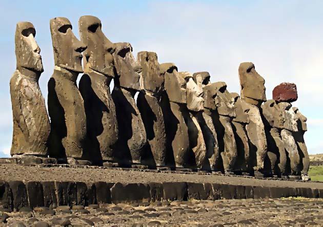 ile-de-paques statues
