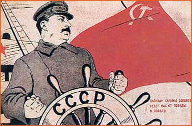 Staline a la barre
