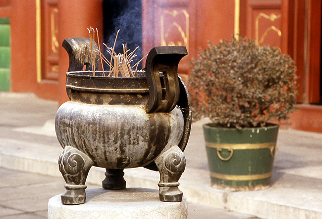 temple des lamas grand ding en cuivre 1747