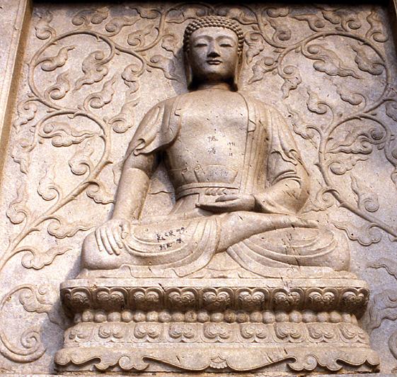 bouddha pagode trone du diamant