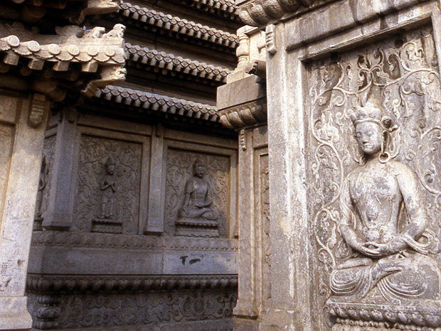 pagode trone du diamant 1792 bouddha