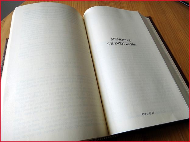 Pierre Drieu La Rochelle Memoires de dirk raspe pleiade