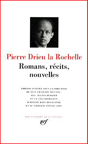 Pierre Drieu la rochelle pléiade