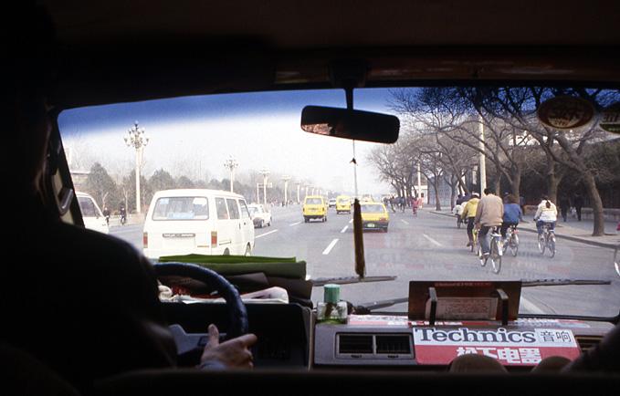 taxi pekin 1993