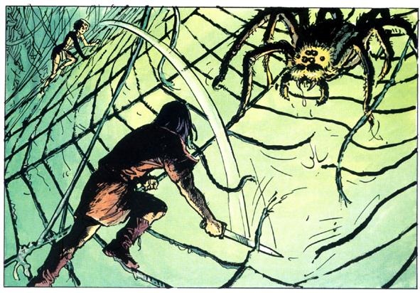 Thorgal 24 combat araignee