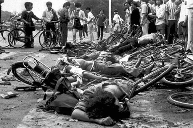 Tien An Men massacre 1989
