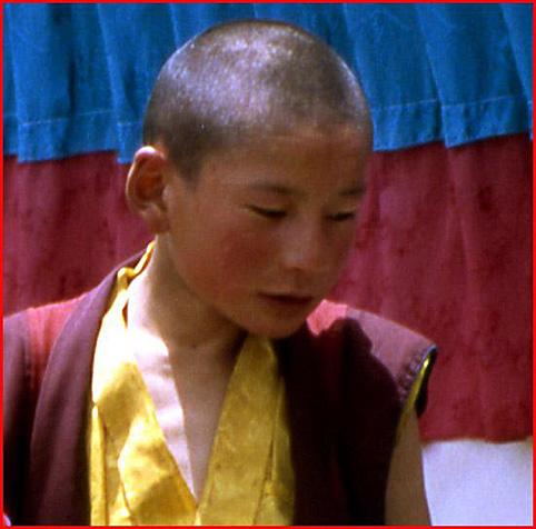 gamin moine tibet
