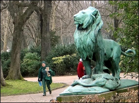 Lion du luxembourg paris argoul - Statue de jardin belgique ...