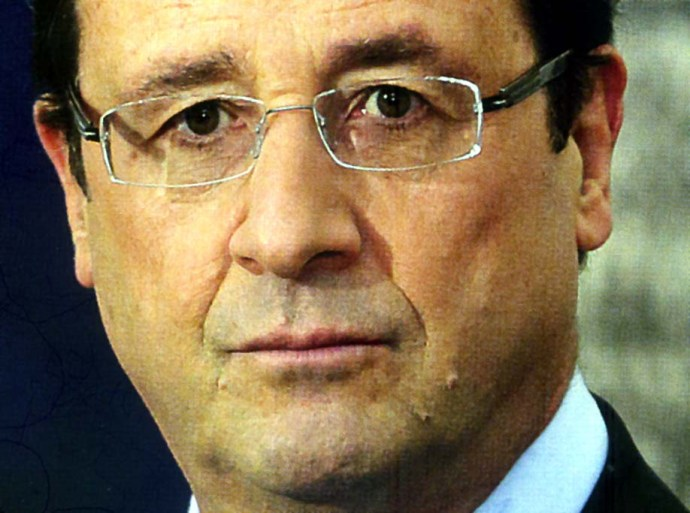 francois hollande visage centre