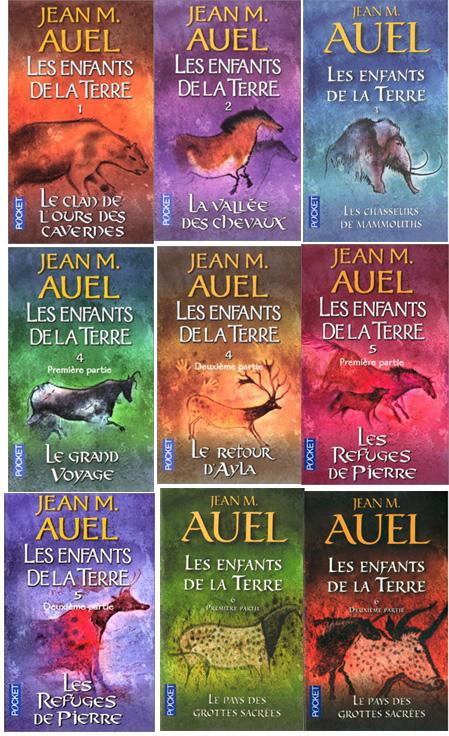 jean m auel les enfants de la terre 9 volumes pocket