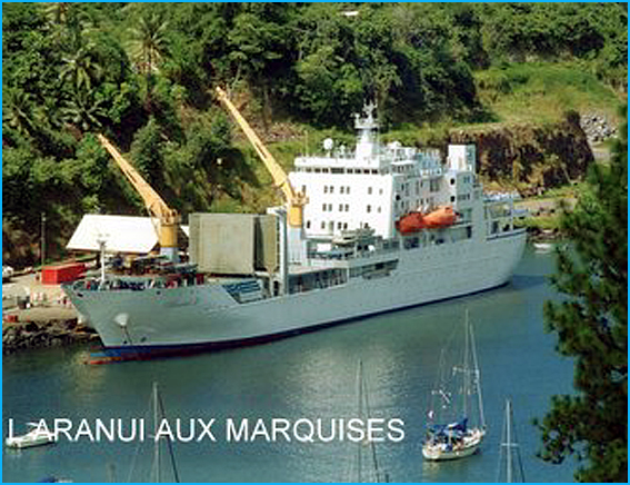 aranui aux marquises