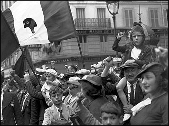 manif willy ronis