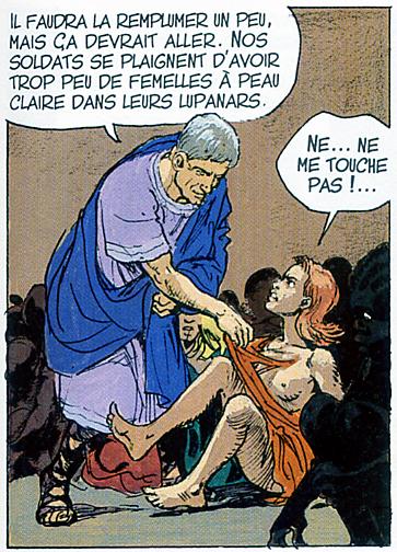 Thorgal 27 2 femme sein nu