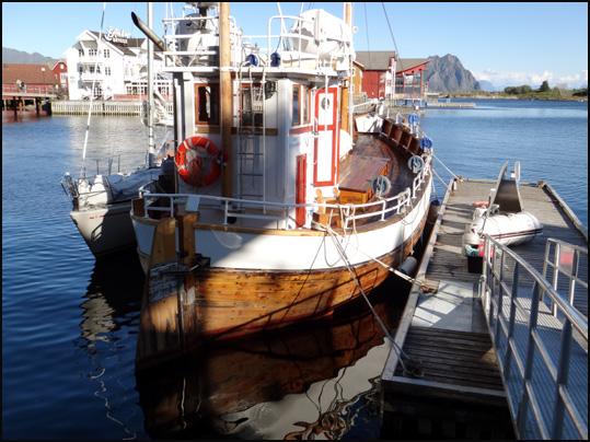 bateau solvaer Lofoten