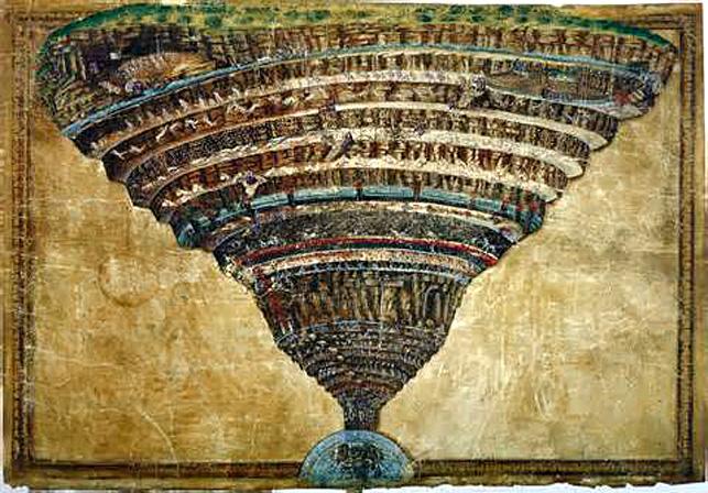 botticelli la carte de l enfer