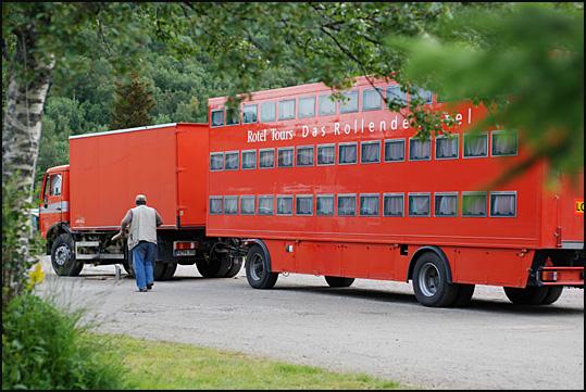 bus dortoir allemand Lofoten