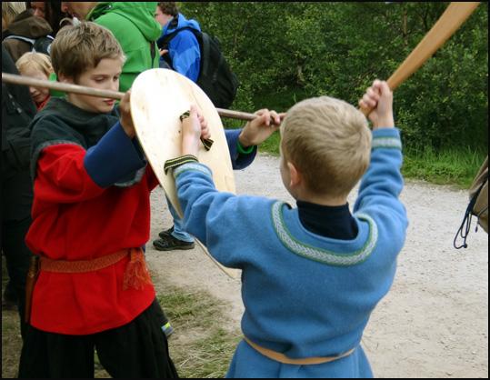 duel gamins vikings Lofoten