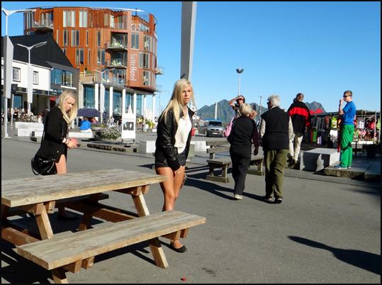 filles court vetues Lofoten