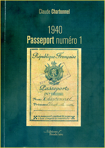 claude charbonnel 1940 passeport numero 1