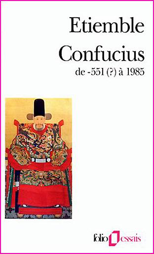 Etiemble Confucius