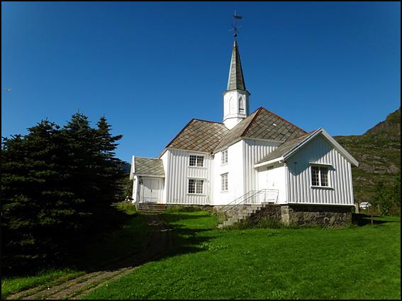 moskenes eglise Lofoten