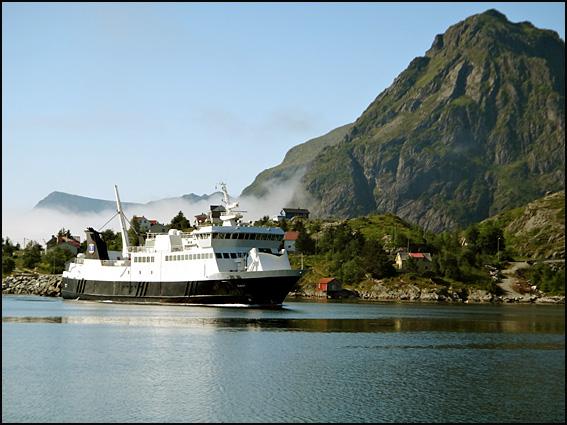 moskenes ferry Lofoten