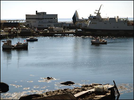moskenes port de ferry Lofoten