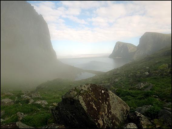 plage de la baleine Lofoten