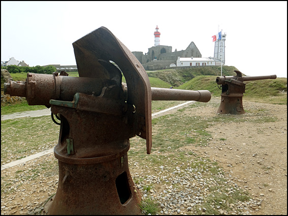 pointe st mathieu canons