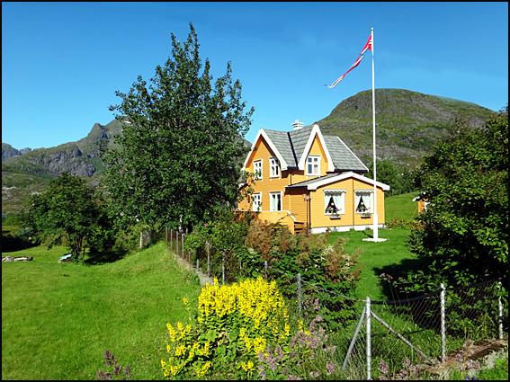 villa ete Sørvågan Lofoten