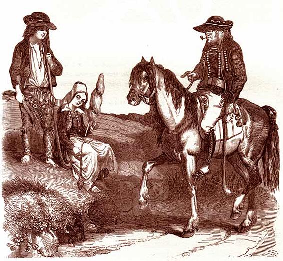bretons paysans 19e