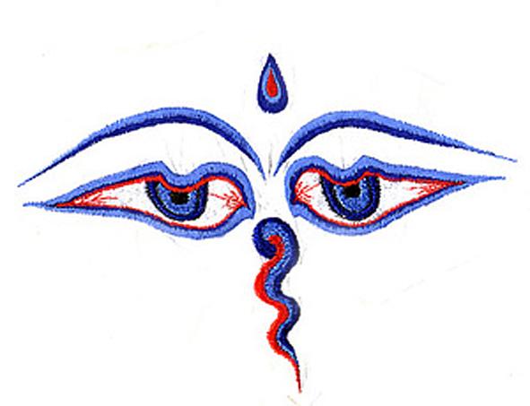 eveil bouddhiste troisieme oeil nepal