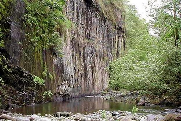 orgues basaltiques tahiti