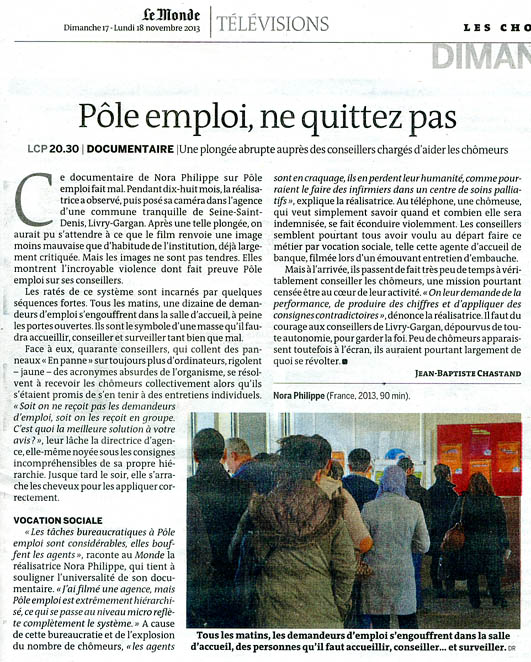 pole emploi bureaucratie kafka