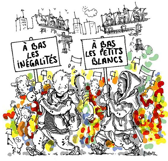 Racisme anti blanc Monde 16mars2005
