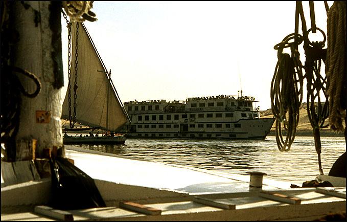 bateau usine sur le nil