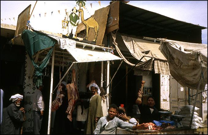 boucherie de village egypte