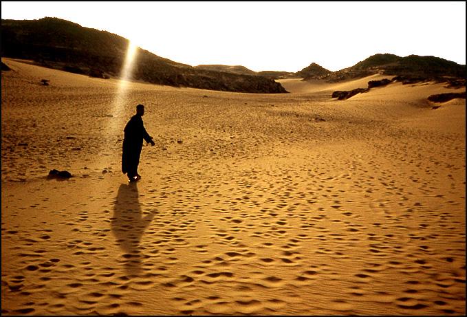 desert bord du nil