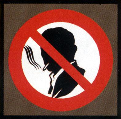 Fumer défense de dessin