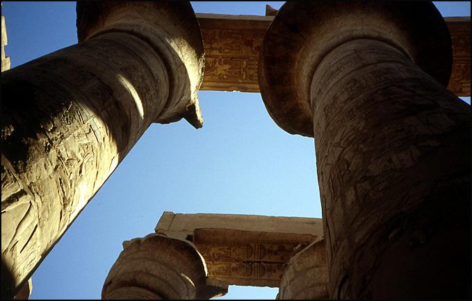 karnak colonnes