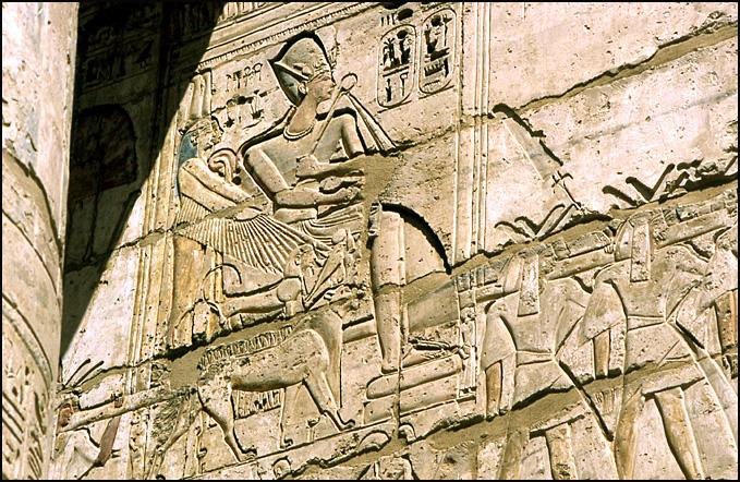 karnak pharaon